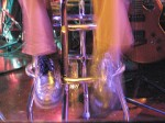 Montbleau feet on a Montbleau stool. Boston, 2007.